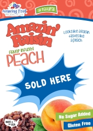 Peach Display Poster