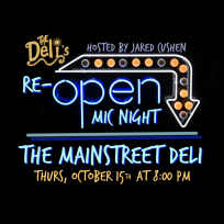 Grand Re-Open Mic Night PNG