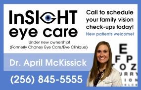 InSight Eye Care Banner