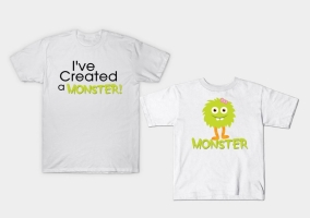 Monster & Me Tees